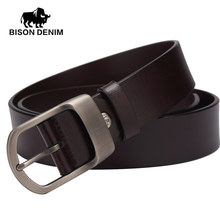 Buy BISON DENIM 2017 Style New Belts pin buckle vintage men belt leather genuine luxury,BELT MAN,mens belts jeans,gift W71154 for $12.24 in AliExpress store