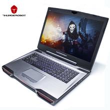 "Thunderobot 911gt-y6 17.3 ""gaming laptops tablets pc intel core i7 nvidia 7700hq gtx1060 ips 16 gb de ram 256g + 1 t dos so backlight(China (Mainland))"