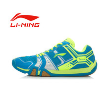 Li-Ning Men's Wear-Resisting Badminton Shoes Portable Anti-Slippery Damping Lace-Up Outdoor Sports Li Ning Sneakers(China (Mainland))