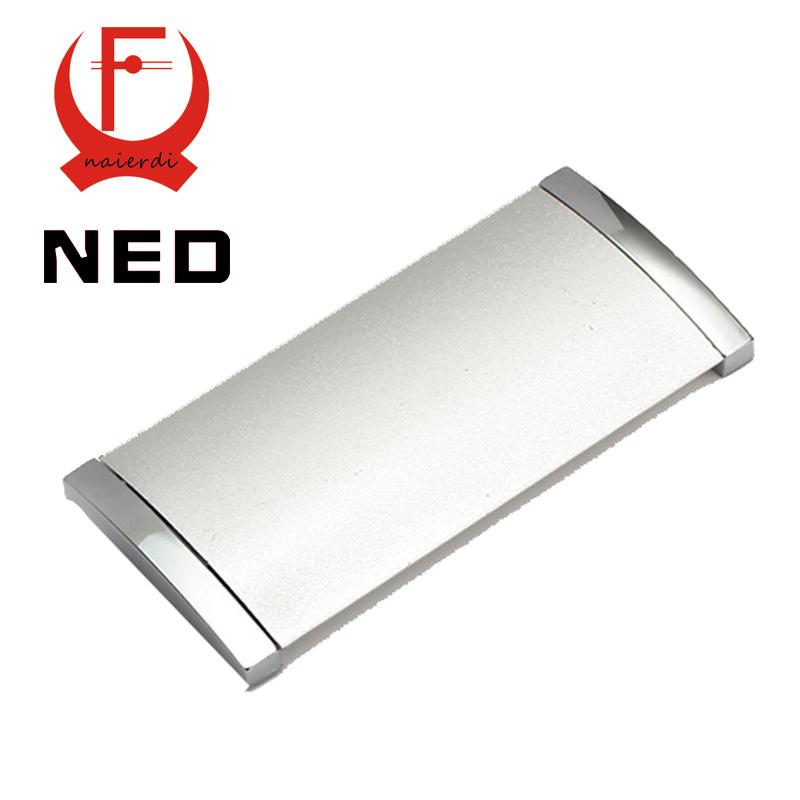10pcs/lot NED Diameter 102MM Hole Pitch 96MM Aluminum Alloy Hidden Handles Drawer Furniture Wardrobe Knobs Cabinet Hardware<br><br>Aliexpress