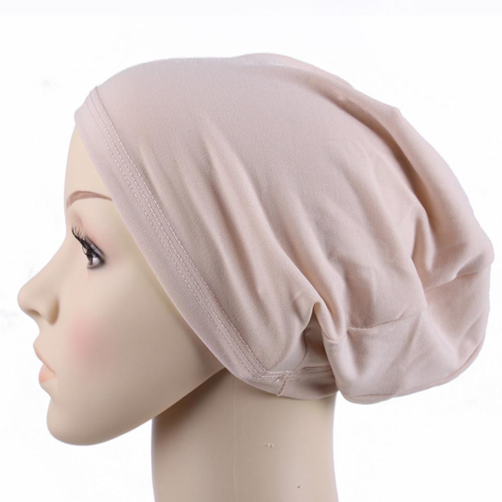 muslim scarf women New Arrivel Stretchy  Islamic Hijab Scarf Turban Headwrap Ninja  Underscarf caps brand scarf women