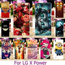 Buy Hard Plastic Case Painted Mobile Phone Cases LG X Power K210 K450 K220 K220DS k220y k220 LS755 US610 F750K XPower Case Cover for $1.68 in AliExpress store