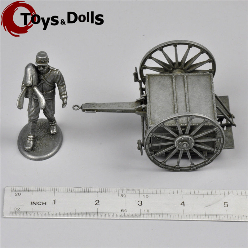 Atlas 1/32 Scale Campagnes DE Diecast Alloy Casting World War I Figure&War Chariot Ammunition Car Kids Toys Collections Gifts F(China (Mainland))