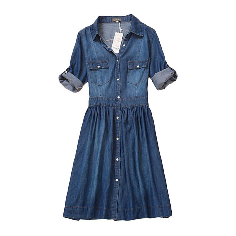 Compare Prices on Jean Dresses for Women in Plus Size- Online ...