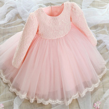 New Winter Girl Dress Kids Dresses For Baby Girls Clothes Autumn Style 2015 Children Brand Clothing Princess Party Kids Clothes(China (Mainland))