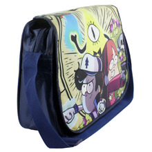 Students School BAG Backpack Gravity Falls knapsack Mabel Pines Dipper Pines Satchel Book Shoulder bag Messenger Bag model toy(China (Mainland))