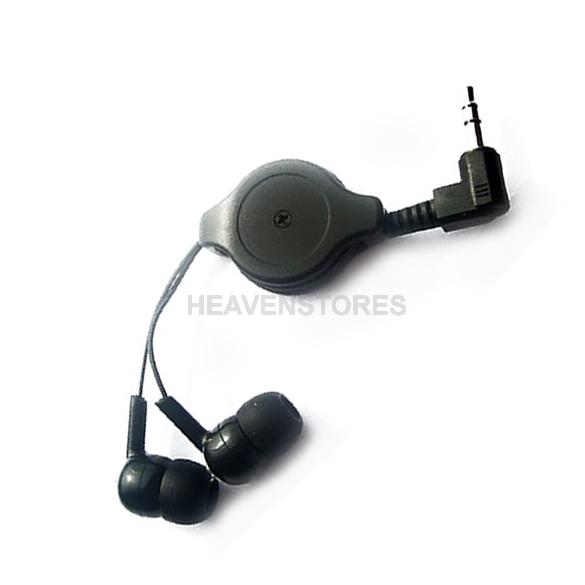 Retractable InEar Earbud Earphone Headphone for mp3 Schwarz hv3n(China (Mainland))