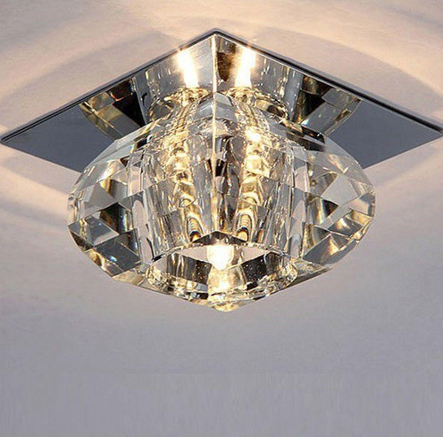 New Modern Crystal Flower LED Bulb Bulbs Warm White Ceiling Light Pendant Chandelier Decor Decoration<br><br>Aliexpress