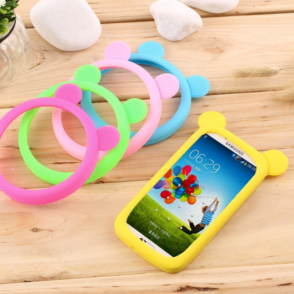 Universal silicone cell mobile phone border protection cover luminous silicone bracelet Case for iphone for Samsung for sony(China (Mainland))