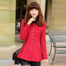 2015 new the spring and autumn period and the new plus size sweet couture show thin  coat  2XL-6XL