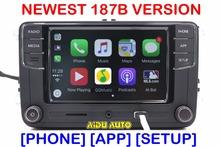 "Carplay Noname RCD330 Plus 6.5"" MIB Radio For Golf 5 6 Jetta CC Tiguan Passat Polo 6RD 035 187 B 6RD035187B(China (Mainland))"