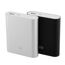 Original Genuine Xiao Mi XIAOMI 10400mAh External USB mobile Power Bank Battery source For All Phones Portable