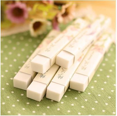cheap school supplies kawaii office strip eraser for students / pure & simple style promotion stationery eraser 1pcs/lot ARC320(China (Mainland))