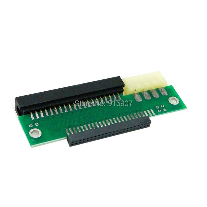 """CY Smarll Laptop Notebook 44pin 2.5"""" IDE to 40pin PC 3.5"""" IDE Adapter PCBA with IDE Power for Hard Disk Drive(China (Mainland))"""