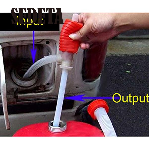 OEM Hand Manual Gas Oil Water Liquid Transfer Pump Siphon Hose for Car Motorcyle Truck(China (Mainland))