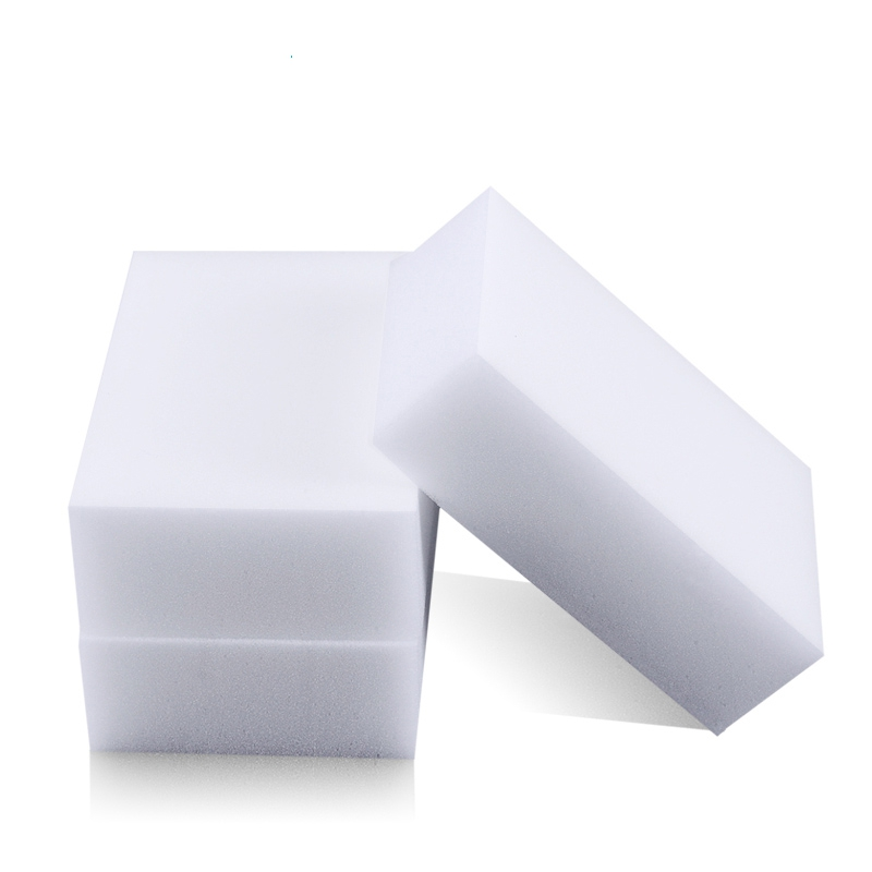 Melamine Sponge Magic Sponge Eraser Melamine Cleaner Eco-Friendly White Kitchen Magic Eraser 2015 New Arrival 50pcs/lot 10*6*2cm(China (Mainland))