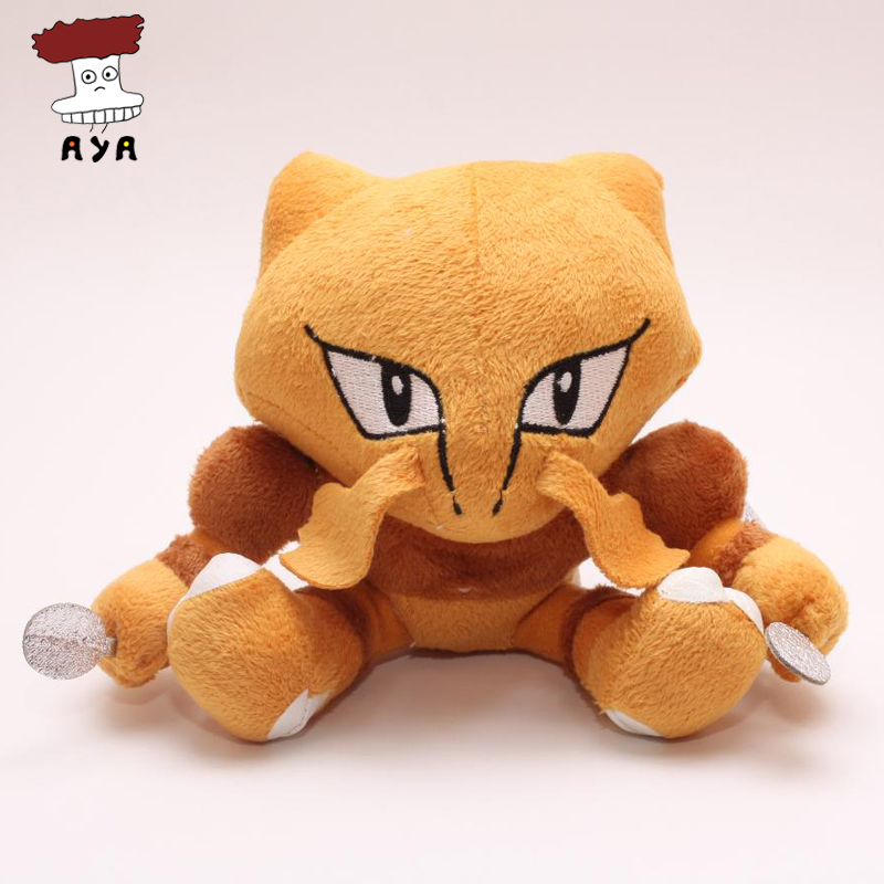 Free shipping 5pcs/lot Pokemon Plush Toys 5 12cm Alakazam Soft Stuffed Animals Toy For Children Christmas Gift Wholesale<br><br>Aliexpress