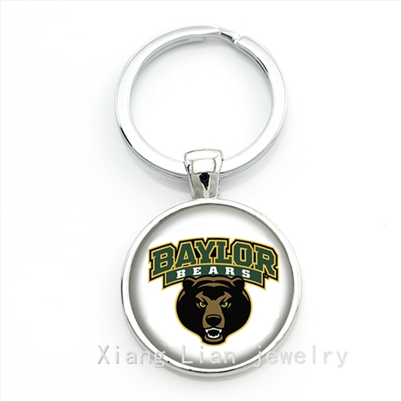 2016 New fashion Chicago Bears Football Newest NFL team logo keychain for men gift at any occasion NF018(China (Mainland))