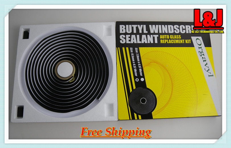 Head lamp sealing/Butyl Window Screen Sealant / Auto Glass replacement Kits / Car / Truck / Train / Plane - CN Post Free(China (Mainland))