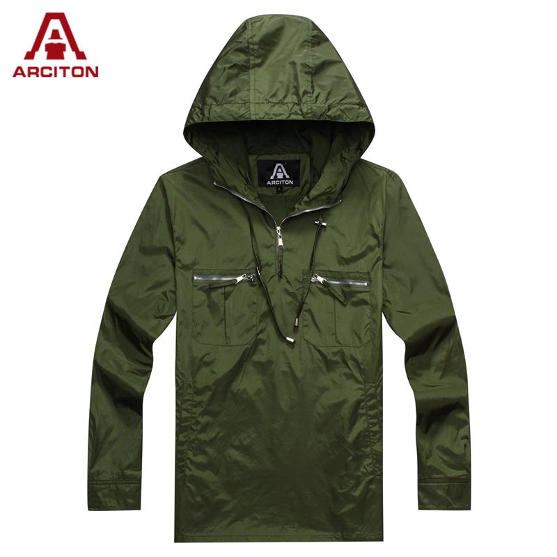 A ARCITON Brand New Hoodies Spring Lightweight Hoody Men Zip Up Mens Tracksuit Hoodie Top Windbreaker(N-828)(China (Mainland))