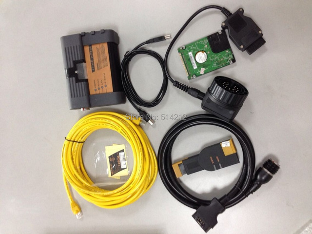 Wholesale For BMW ICOM A2 + B + C Scanner Tool  With Software Hard drive