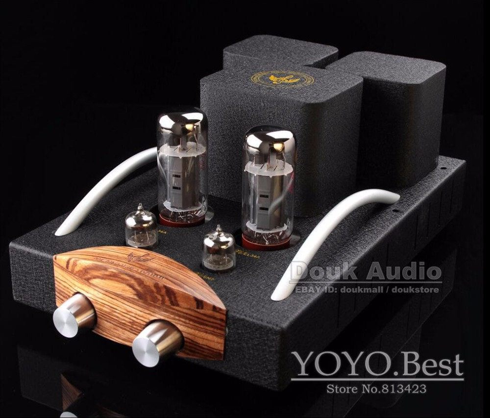 Music Angel EL34 Vacuum Tube Integrated Amplifier HiFi Single-ended Stereo Amp Finished Product 110~240V(China (Mainland))
