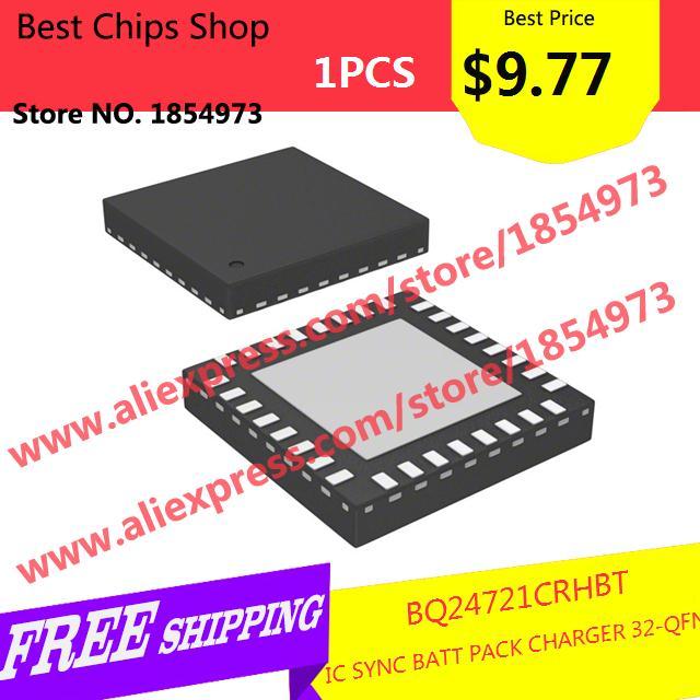 Free Shipping 1PCS=$9.77 Electronic Components BQ24721CRHBT IC SYNC BATT PACK CHARGER 32-QFN 24721 BQ24721(China (Mainland))
