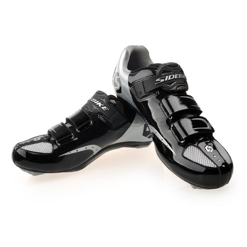 sidebike Шоссейный велосипед обувь самоблокирующихся велосипед ботинки углерода ультралайт шоссе замок