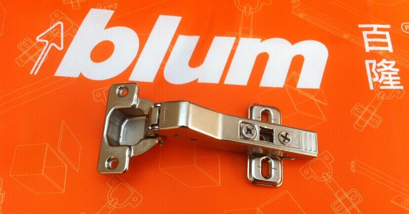 Is the 45 degree angle of five Austria imported Blum Blum cabinet hinge genuine original spring hinge shaped hinge(China (Mainland))