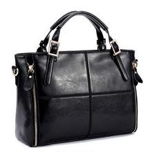 Fashion patchwork designer cattle split leather bags women handbag brand high quality ladies shoulder bags women bag WLHB974(China (Mainland))
