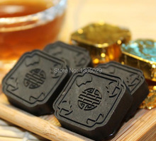 2007 China Ripe Pu-Erh Tea Cha Gao 10pcs , Mini Gold Brick Chagao Cooked Pu Er Tea For Weight Loss Gift Free Shipping