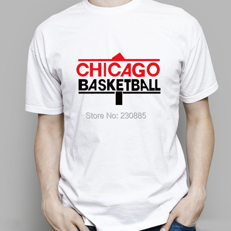 All star chicago basketball t shirt digital printing round Custom t shirt digital printing
