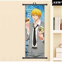 45X125CM Kuroko no Basuke Basketball Kise Ryouta Sports Anime Cartoon scroll wall picture mural poster art cloth canvas painting