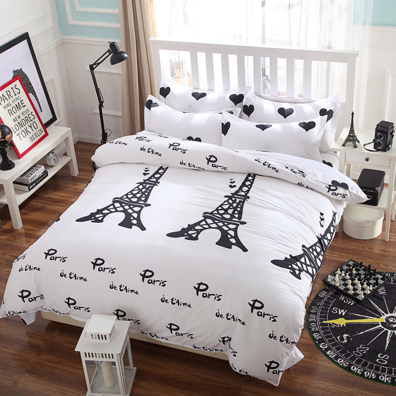 paris bedding twin promotion-shop for promotional paris bedding
