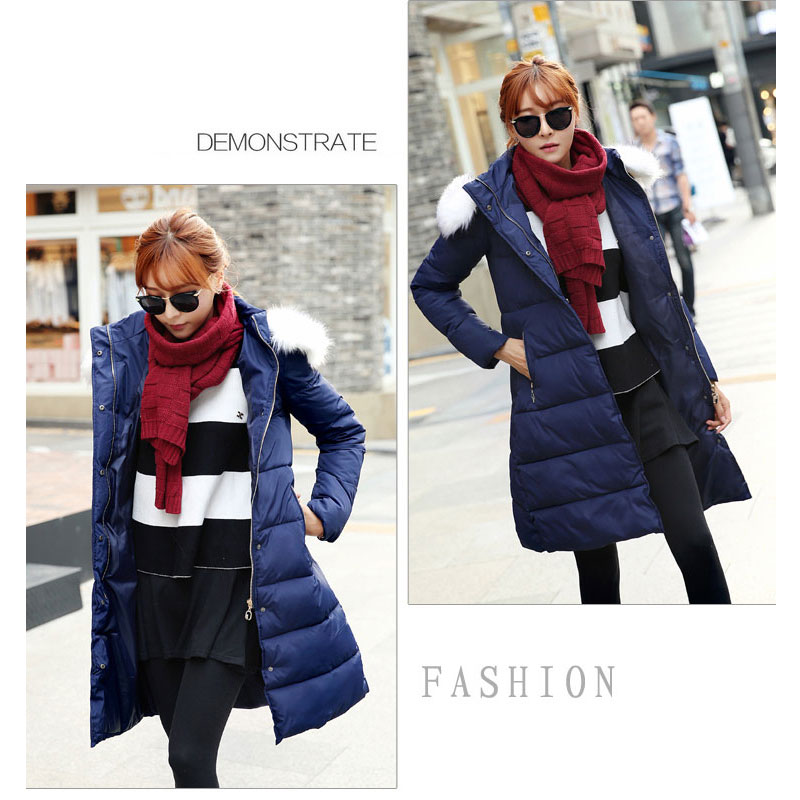 wadded jacket female 2015 new women's winter jacket down cotton jacket slim parkas ladies coat plus size M-XXL