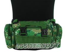Outdoor sports Utility Molle City Special Multifunctional Tactical 3P Waist Pack Shoulder Bag green fashion Cool