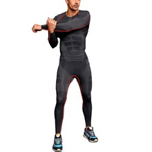 Free Shipping  Mens Athletic Pants Compression Running Sports Training Base Layers Skin Tights Quick Dry