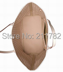 Hotsale classic genuine quality women Leather never handbag fully purse tote bag GM MM PM to choose(China (Mainland))