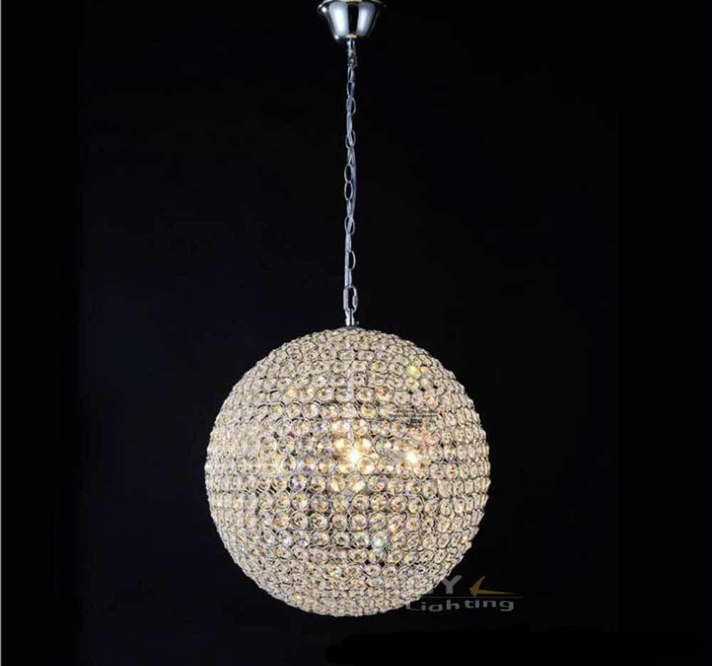 achetez en gros boule de lustre en cristal ronde en ligne des grossistes boule de lustre en. Black Bedroom Furniture Sets. Home Design Ideas