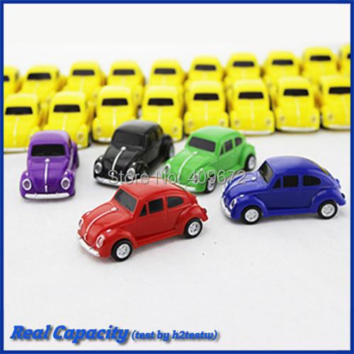 genuine 4GB 8GB 16GB 32GB plastic pen drive pendrive vw usb stick beetle car pack usb flash drive Drop Free shipping(China (Mainland))