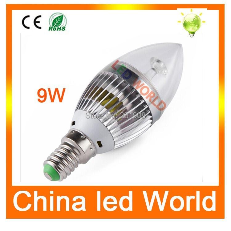 High quality led bulb E14 2835 SMD 3W 5W 9W led candle bulb lamps Warm White/Cool White,led lights AC110V 220V, Energy Saving(China (Mainland))