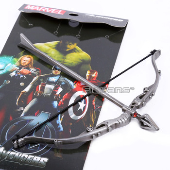 Avengers Hawkeye Bow Arrow Metal Figure Model Toy Colletion ANPD2047