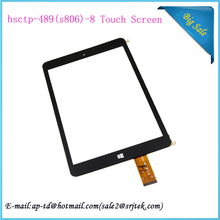High Quality 8 inch HSCTP-489(S806)-8 tablet pc touch screen Digitizer Glass Sensor Replacement Parts