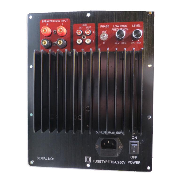 Compra 500 w amplificador online al por mayor de china mayoristas de 500 w amplificador - Subwoofer attivo casa ...