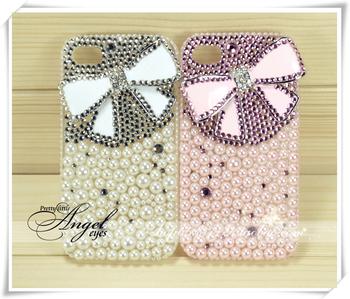 Diamond mobile phone shell alloy bow ice shell