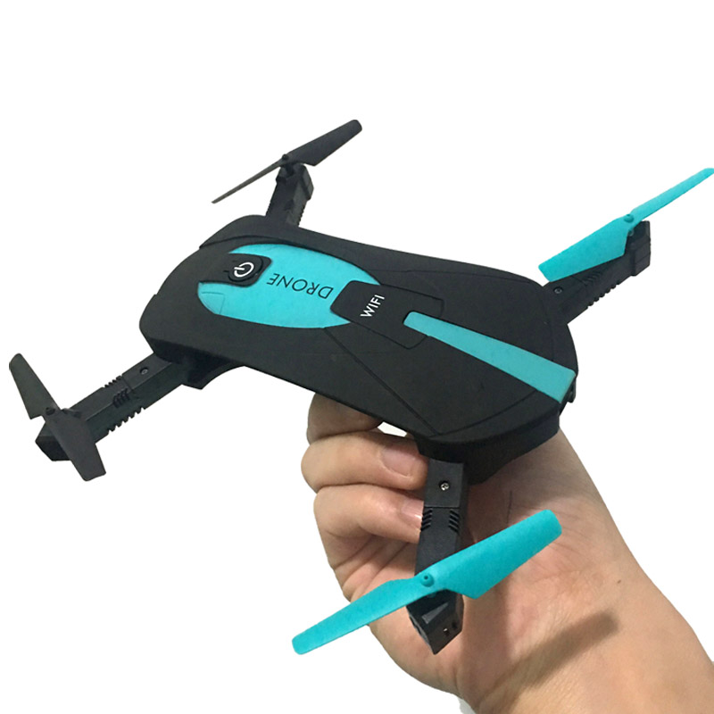 H37 JY018 ELFIE WiFi FPV Quadcopter Mini Dron Foldable Selfie Drone RC Drones with Camera HD FPV Professional RC Helicopter Gift(China (Mainland))