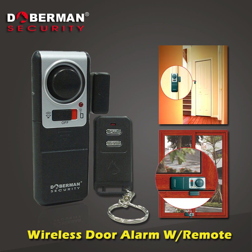 Doberman Security Home Security System Alarm With One Wireless Remote Control Alarm for Home Magnetic Door Sensor Detector(China (Mainland))