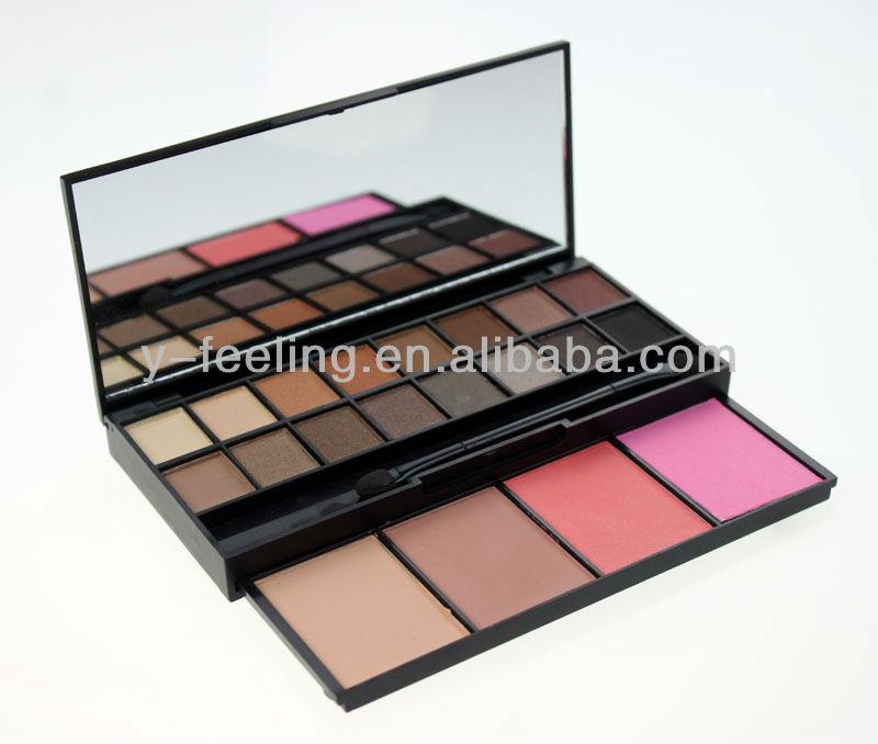 Profissão 20 cores de sombra Blush maquiagem cosméticos Palette quente sombra Blush cosméticos Set