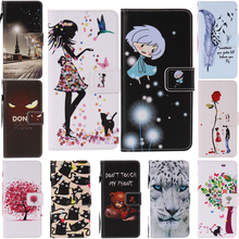 2016 New Luxury Cool Pattern Flip Wallet Cover PU Leather caser For Apple iPhone 7 Cases mobile phone shell[
