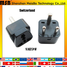 Buy Factory supply 10A 250V ABS material us uk Eu Italy south africa india plug adaptor 500pcs/lot free Fedex for $378.10 in AliExpress store